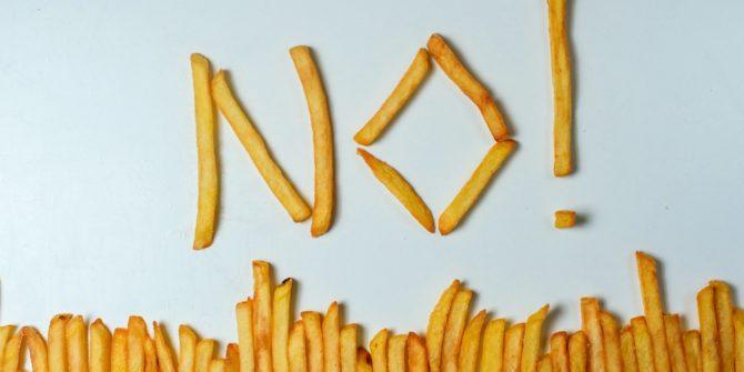 no aux frites