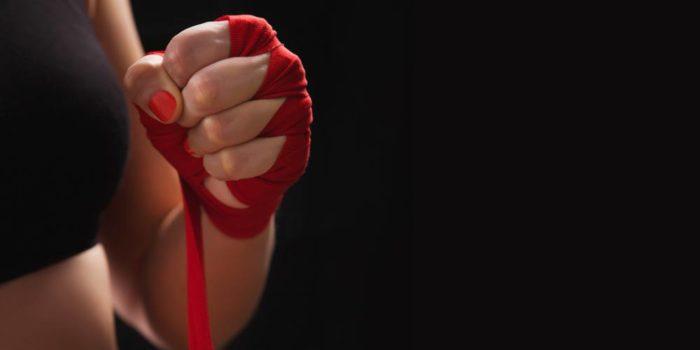 poing de boxe