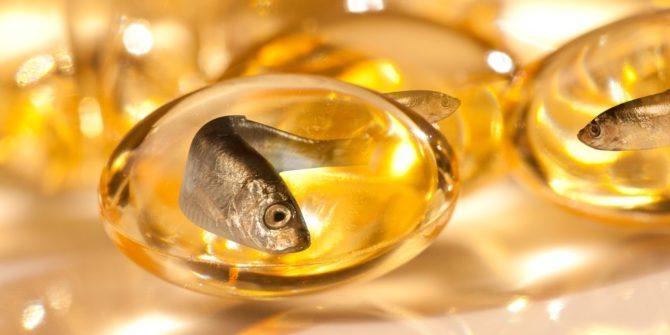 complément alimentaire d'huile de poisson