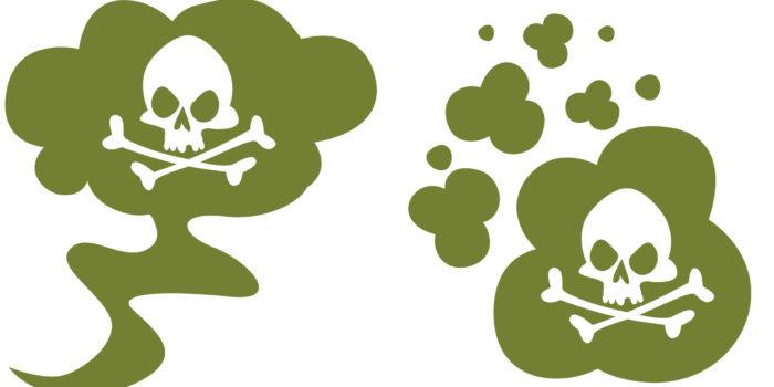 des gaz mortels dessin