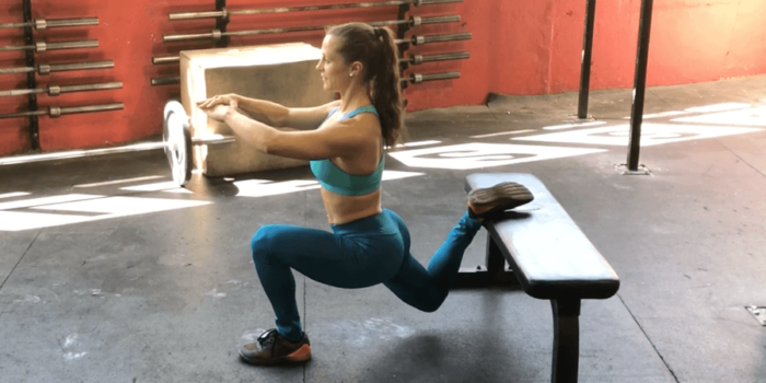 faire un bulgarian squat