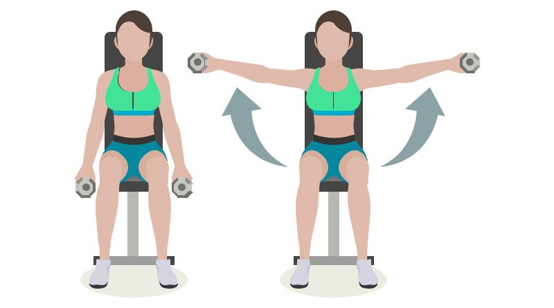 8 Exercices pour les femmes qui veulent affiner leurs bras