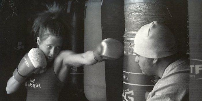 Maggie Dumoulin, 18 ans boxe