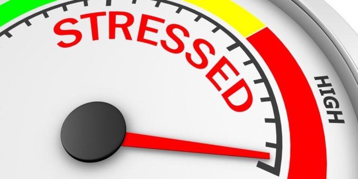 compteur du stress au max