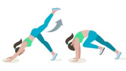 exercice de yoga et activation