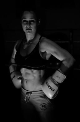 Maggie Dumoulin boxe