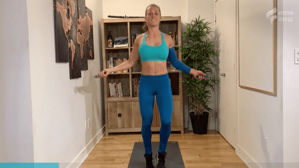 exercice de la corde à danser