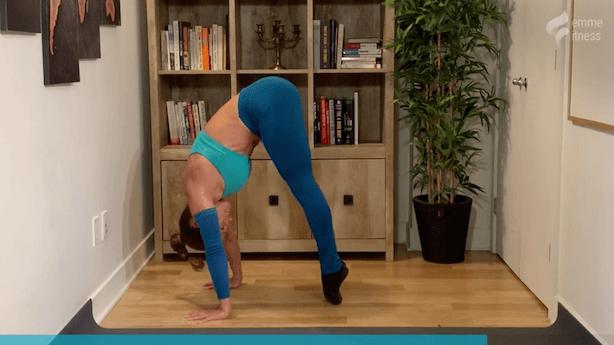 exercice du crunch inversé