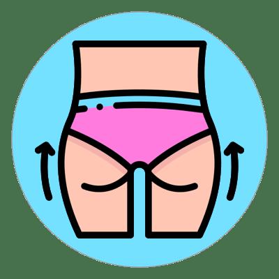 fessier femme dessin