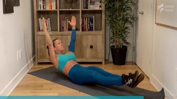 exercice du hollow rock pour les abdominaux