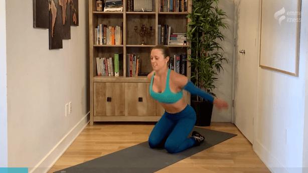 exercice du knee jump