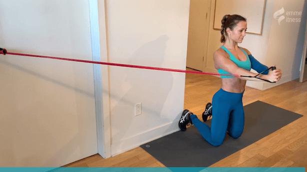 exercice du pallof press