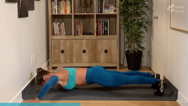 exercice du push up allongé