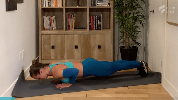 exercice du push up diamond