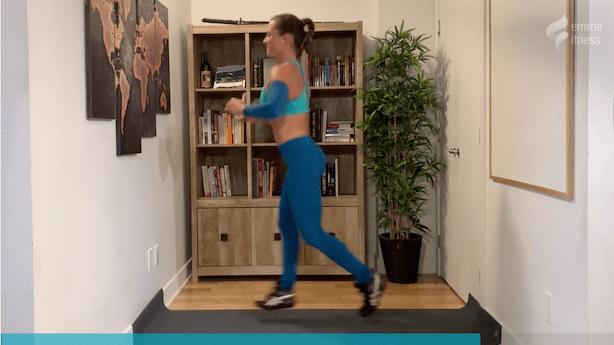 exercice du split jump