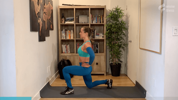 exercice du split squat