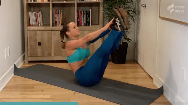 exercice du v-crunch