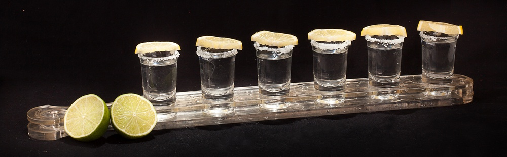6 shooters d'alcool