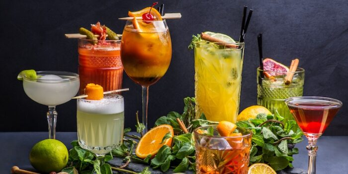 cocktails alcoolisés