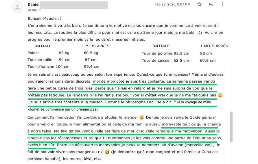 courriel de daniel