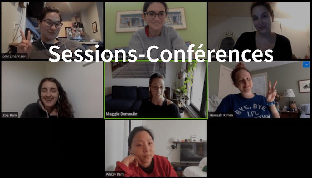 sessions conférences