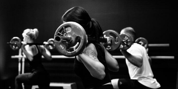 entraînement musculaire de groupe