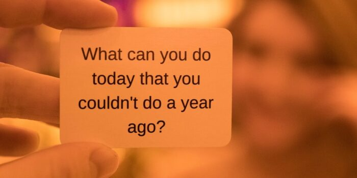 what can you do today that you couldn't do today